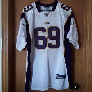 cf82d5684 Jared Allen  69 Vikings Jersey Size 50.